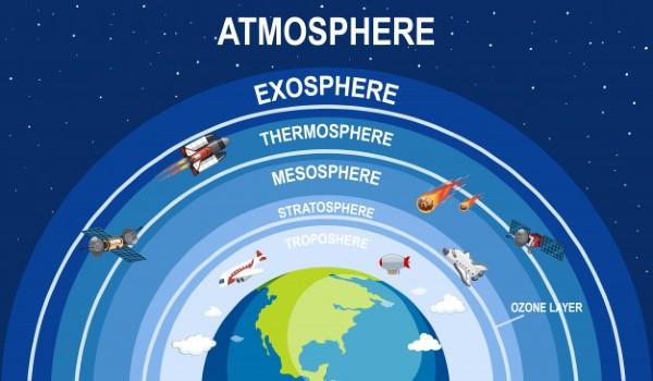 Infografía Atmósfera de la Tierra