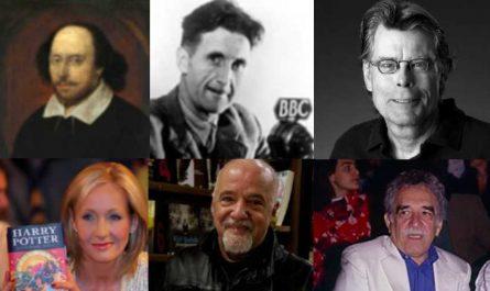 Escritores más famosos